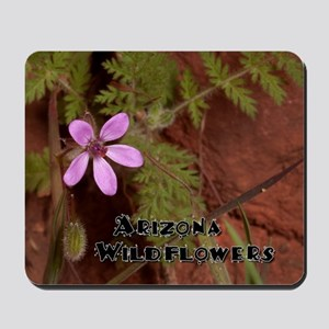 Arizona Wildflowers Mousepad
