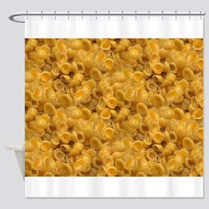 shells and cheese Shower Curtain