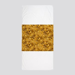 shells and cheese Beach Towel
