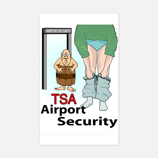 Security Sticker (Rectangle)