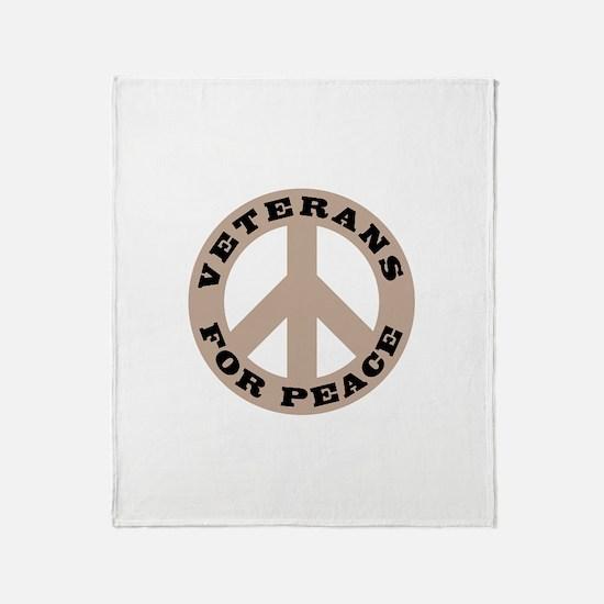 Veterans Peace Throw Blanket