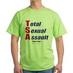 Total Sexual Assault Green T-Shirt
