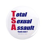 """Total Sexual Assault 3.5"""" Button (100 pack)"""