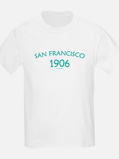 San Francisco 1906 - Kids T-Shirt