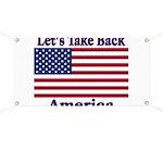 Take Back America Banner