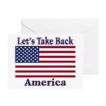 Take Back America Greeting Cards (Pk of 20)