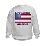 Take Back America Kids Sweatshirt