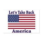 Take Back America Mini Poster Print