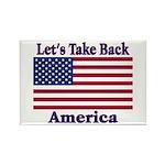 Take Back America Rectangle Magnet (10 pack)