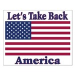 Take Back America Small Poster