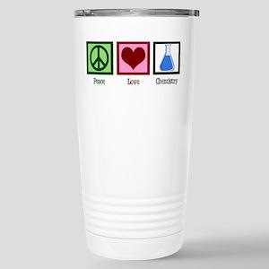 Peace Love Chemistry Stainless Steel Travel Mug