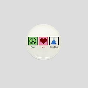 Peace Love Chemistry Mini Button