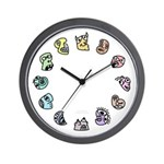 Beasties Wall Clock