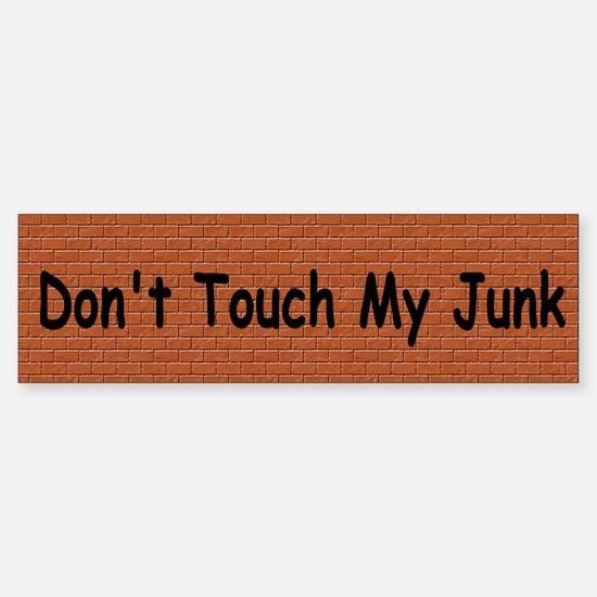 TSA - Junk Gropers Sticker (Bumper)