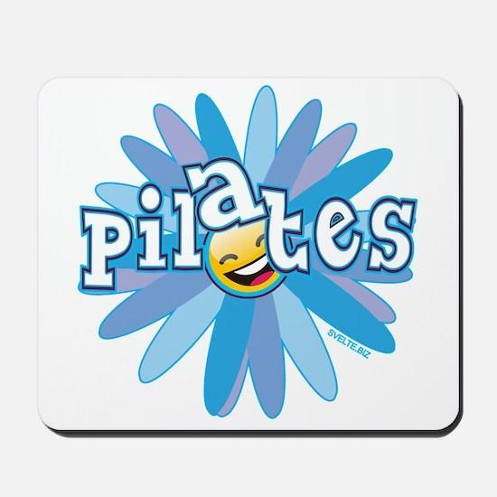 Pilates Flower by Svelte.biz Mousepad