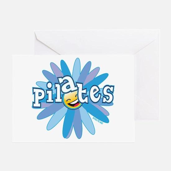 Pilates Flower by Svelte.biz Greeting Card