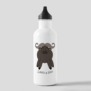Cape Buffalo Stainless Water Bottle 1.0L
