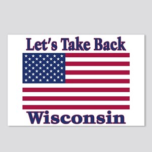 Take Back Wisconsin Postcards (Package of 8)