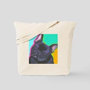 Fun Frenchie Tote Bag
