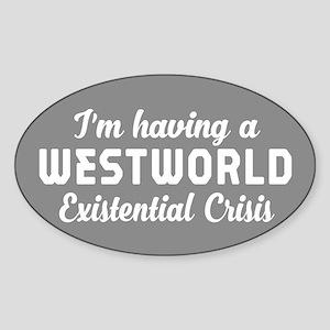 Westworld Existential Crisis Sticker