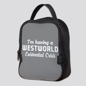 Westworld Existential Crisis Neoprene Lunch Bag