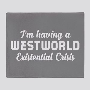 Westworld Existential Crisis Throw Blanket