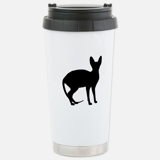 Sphinx cat Stainless Steel Travel Mug