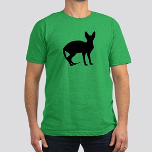 Sphinx cat Men's Fitted T-Shirt (dark)