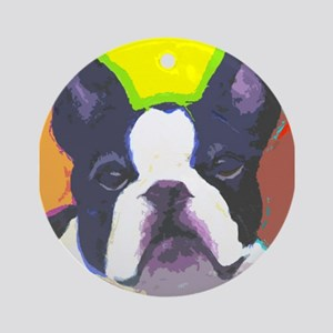 Frenchie Fun Ornament (Round)