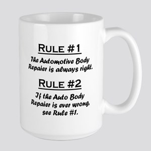 Auto Body Repairer Large Mug