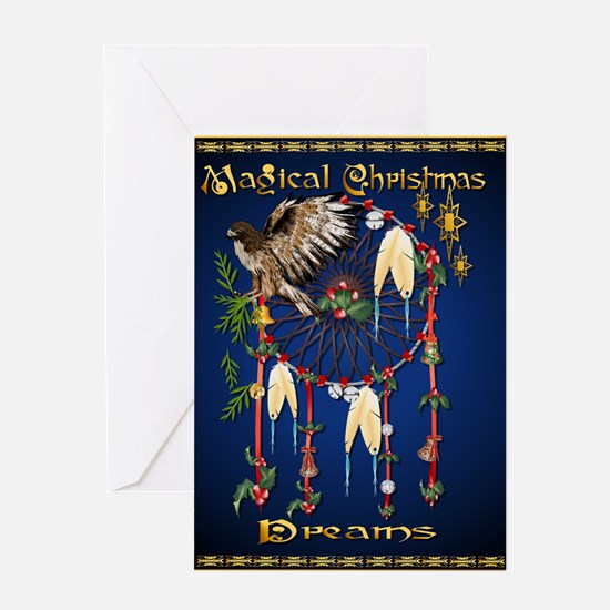 Magical Christmas Dreams Greeting Card