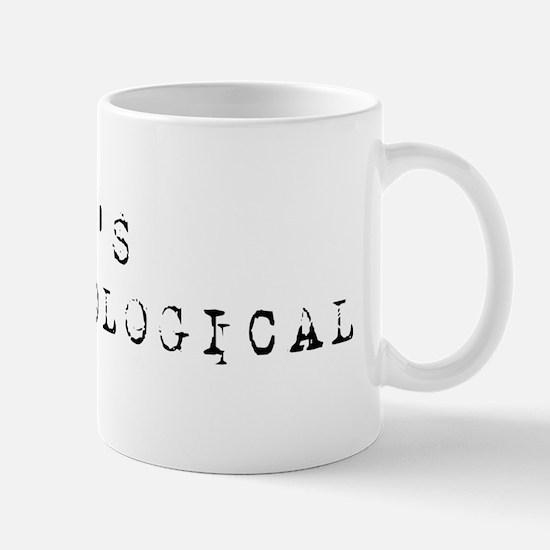 It's Anthropological Mug