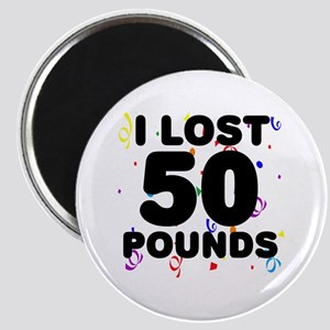 I Lost 50 Pounds! Magnet
