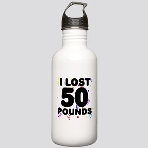 I Lost 50 Pounds! Stainless Water Bottle 1.0L