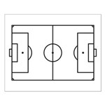 Soccer Field Small Poster