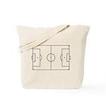 Soccer Field Tote Bag