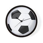 Soccer Ball Wall Clock