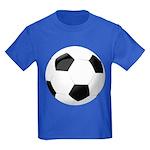 Soccer Ball Kids Dark T-Shirt