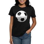 Soccer Ball Women's Dark T-Shirt