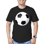 Soccer Ball Men's Fitted T-Shirt (dark)