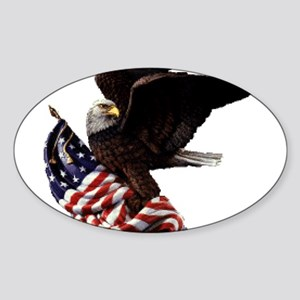 Eagle's America Sticker (Oval)