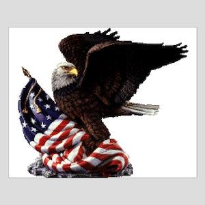Eagle's America Small Poster