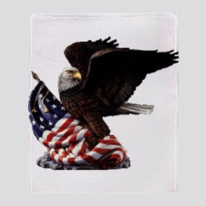 Eagle's America Throw Blanket