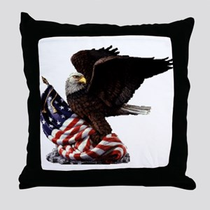 Eagle's America Throw Pillow