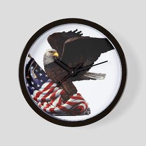 Eagle's America Wall Clock