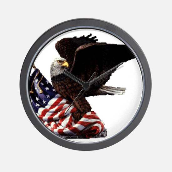 Eagle's America Wall Clock