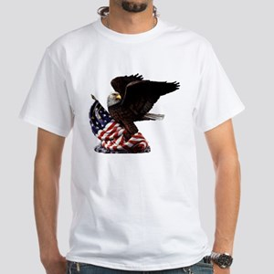 Eagle's America White T-Shirt
