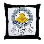 Pringle Clan Badge Throw Pillow