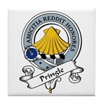 Pringle Clan Badge Tile Coaster