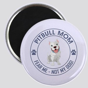 PITBULL MOM Magnets